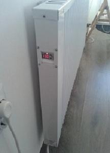 Терморегулятор теплоакумуляційного обігрівача